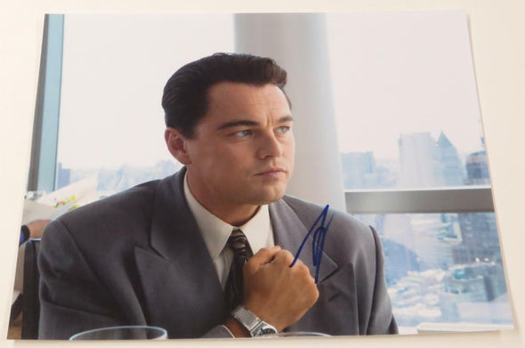 Leonardo DiCaprio Authentic Autographed 11x14 Photo - Prime Time Signatures - TV & Film