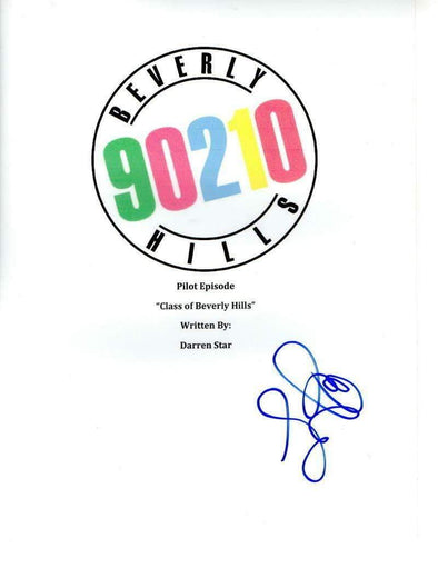 Luke Perry Authentic Autographed 'Beverly Hills 90210' Script - Prime Time Signatures - TV & Film