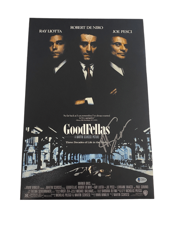 Martin Scorsese Authentic Autographed 12x18 Photo Poster - Prime Time Signatures - TV & Film