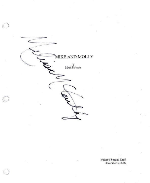 Melissa McCarthy Authentic Autographed 'Mike and Molly' Script - Prime Time Signatures - TV & Film