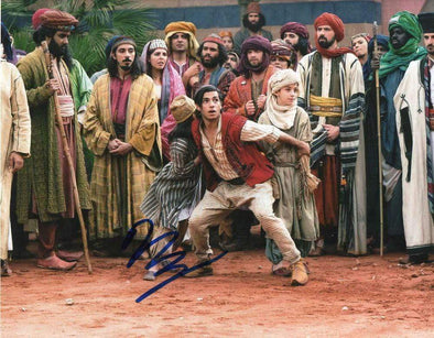 Mena Massoud Authentic Autographed 8x10 Photo - Prime Time Signatures - TV & Film