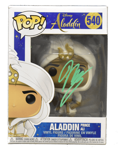 Mena Massoud Authentic Autographed Aladdin 540 Funko Pop! Figure - Prime Time Signatures - TV & Film