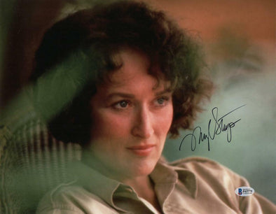 Meryl Streep Authentic Autographed 11x14 Photo - Prime Time Signatures - TV & Film