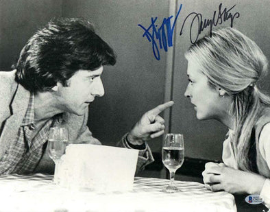 Meryl Streep & Dustin Hoffman Authentic Autographed 11x14 Photo - Prime Time Signatures - TV & Film