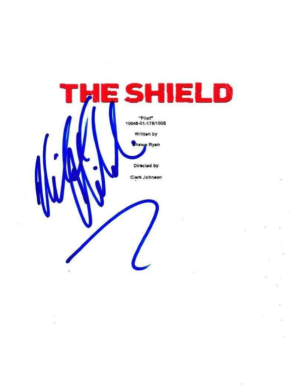 Michael Chiklis Authentic Autographed 'The Shield' Script - Prime Time Signatures - TV & Film