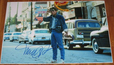 Michael J Fox Authentic Autographed 20x30 Photo Poster - Prime Time Signatures - TV & Film
