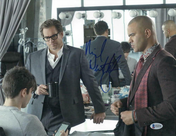 Michael Weatherly Authentic Autographed 11x14 Photo - Prime Time Signatures - TV & Film