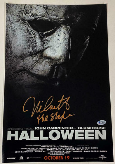 Nick Castle Authentic Autographed 12x18 Photo Poster - Prime Time Signatures - TV & Film