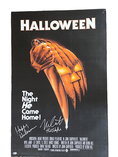 Nick Castle Authentic Autographed Full Size Poster - Prime Time Signatures - TV & Film