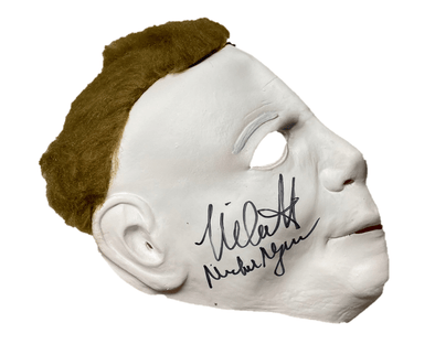Nick Castle Authentic Autographed Halloween Mask - Prime Time Signatures - TV & Film