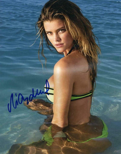 Nina Agdal Authentic Autographed 8x10 Photo - Prime Time Signatures - Personality