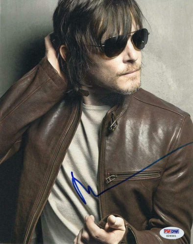 Norman Reedus Authentic Autographed 8x10 Photo - Prime Time Signatures - TV & Film