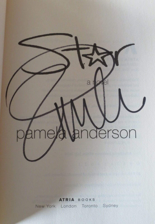Pamela Anderson Authentic Autographed Star Hardcover Book - Prime Time Signatures - TV & Film
