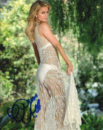 Paris Hilton Authentic Autographed 8x10 Photo - Prime Time Signatures - Personality