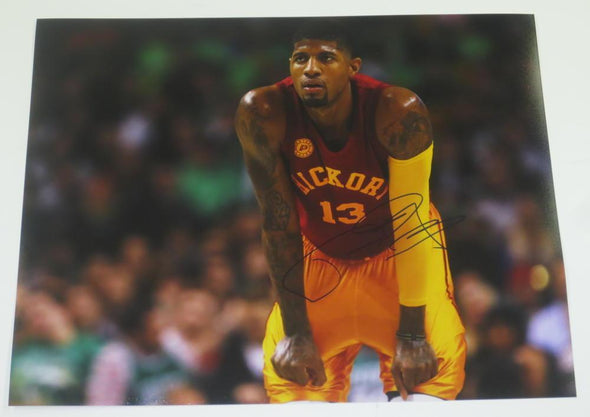 Paul George Authentic Autographed 11x14 Photo - Prime Time Signatures - Sports