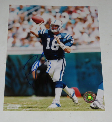 Peyton Manning Authentic Autographed 8x10 Photo - Prime Time Signatures - Sports