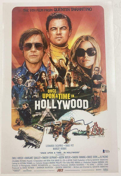 Quentin Tarantino Authentic Autographed 12x18 Photo Poster - Prime Time Signatures - TV & Film