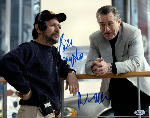 Robert De Niro, Billy Crystal Authentic Autographed 11x14 Photo - Prime Time Signatures - TV & Film