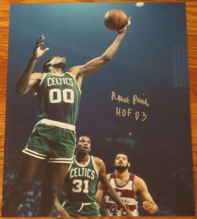 Robert Parish Authentic Autographed 11x14 Photo - Prime Time Signatures - Sports