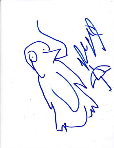Robin Lord Taylor Authentic Autographed Original Sketch Artwork - Prime Time Signatures - TV & Film