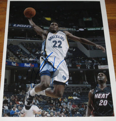 Rudy Gay Authentic Autographed 11x14 Photo - Prime Time Signatures - Sports