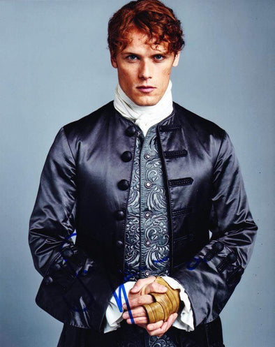 Sam Heughan Authentic Autographed 8x10 Photo - Prime Time Signatures - TV & Film
