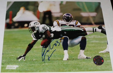 Santana Moss Authentic Autographed 8x10 Photo - Prime Time Signatures - Sports