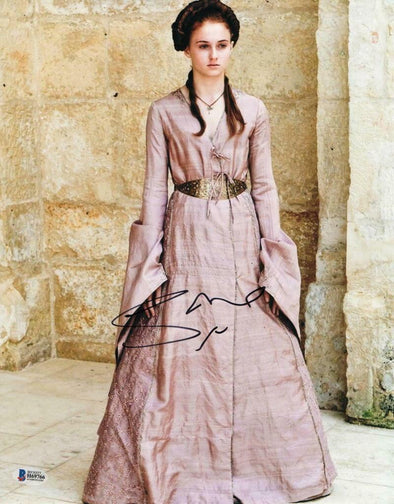 Sophie Turner Authentic Autographed 11x14 Photo - Prime Time Signatures - TV & Film