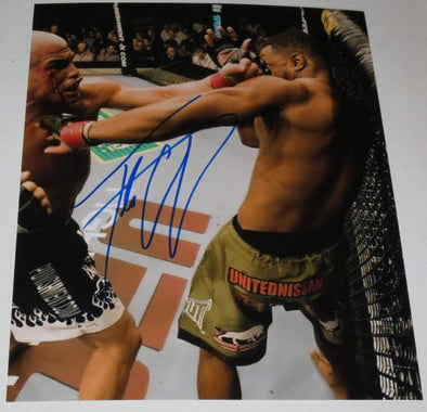 Tito Ortiz Authentic Autographed 8x10 Photo - Prime Time Signatures - Sports