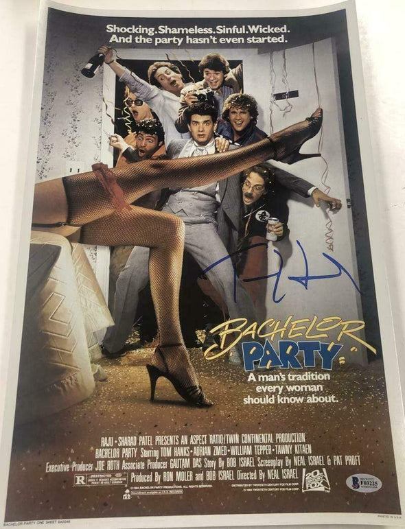 Tom Hanks Authentic Autographed 12x18 Photo - Prime Time Signatures - TV & Film