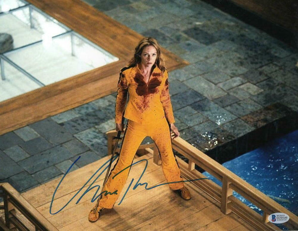 Uma Thurman Authentic Autographed 11x14 Photo - Prime Time Signatures - TV & Film