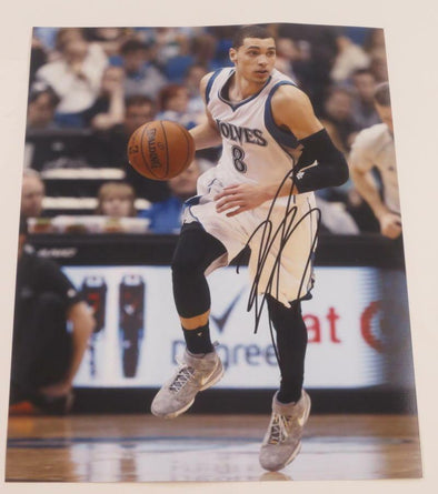 Zach Lavine Authentic Autographed 11x14 Photo - Prime Time Signatures - Sports