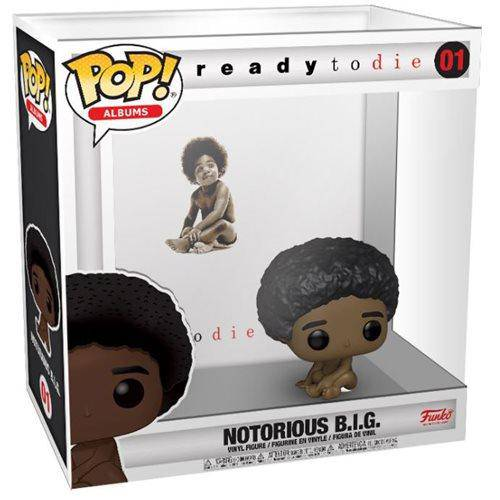 Biggie Smalls Ready to Die Pop! Album Figure with Case