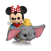 Disneyland 65th Anniversary Flyng Dumbo Ride with Minnie Pop! Vinyl Ride - Hobbitland Toys