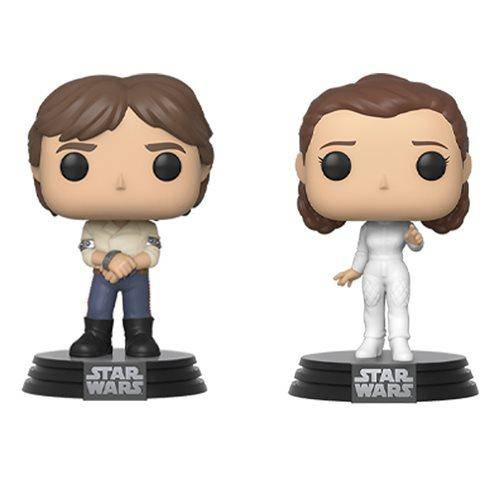 Empire Strikes Back Han and Leia Pop! Vinyl Figure 2-Pack - Hobbitland Toys