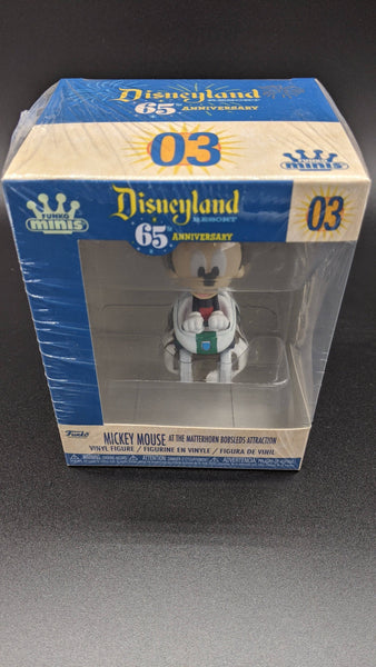 Funko minis Mickey mouse on the Matterhorn ride - Hobbitland Toys