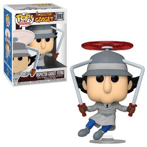 Inspector Gadget Flying Pop! Not Mint Box - Hobbitland Toys