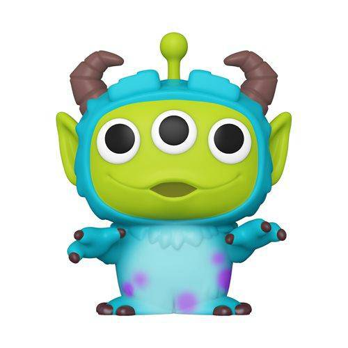 Pixar 25th Anniversary Alien as Sulley Pop! Vinyl Figure - Hobbitland Toys