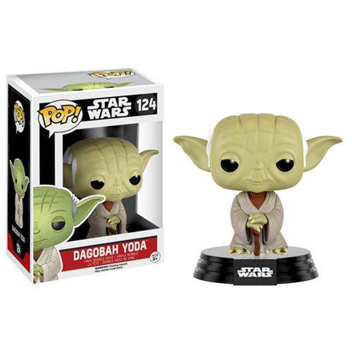 Star Wars Dagobah Yoda Pop! Vinyl Bobble Head