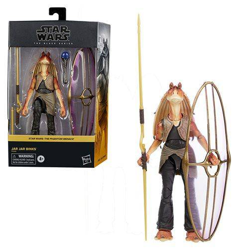 Star Wars The Black Series Deluxe Jar Jar Binks 6-Inch Action Figure - Hobbitland Toys