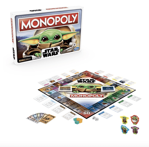 Star Wars The Mandalorian The Child Edition Monopoly Game - Hobbitland Toys