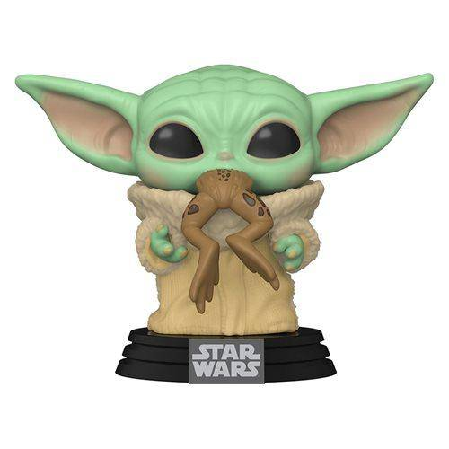 The Mandalorian The Child with Frog Pop! Vinyl Figure