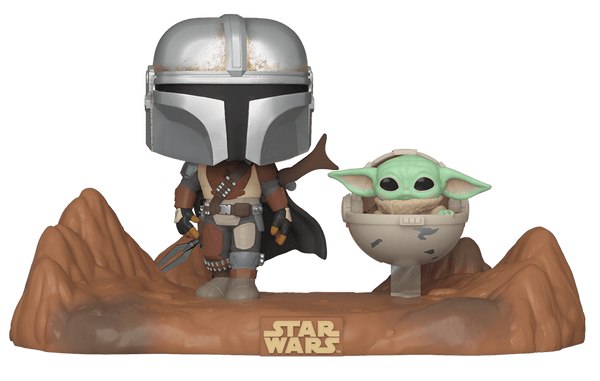 The Mandalorian and Child Pop! Vinyl Television Moment