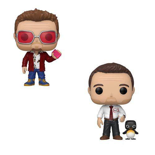 Fight Club Tyler Durden and Buddy Pop! Vinyl Figure chase set - Hobbitland Toys