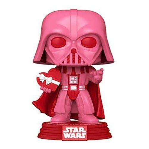 Star Wars Valentines Darth Vader with Heart Pop! Vinyl Figure  Pre-Order - Hobbitland Toys