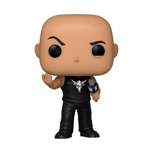 WWE NWSS The Rock Pop! Vinyl Figure