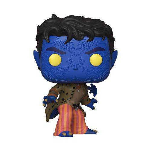 X-Men 20th Anniversary Nightcrawler Pop Not Mint Box