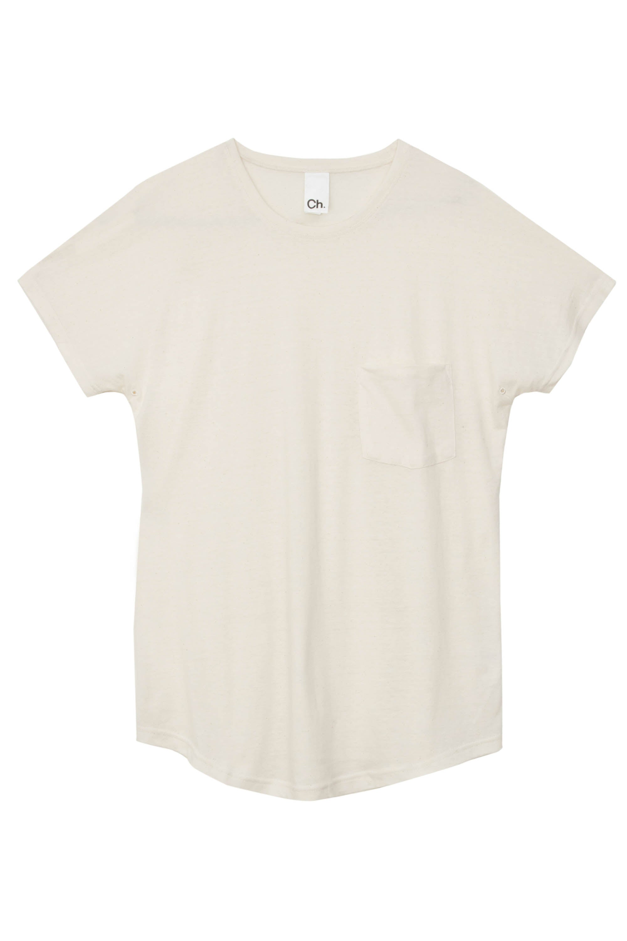 Yuri Pocket T-Shirt - Off White