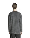 Jace Long Sleeve T-Shirt - Black Check
