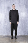 YAAN LONG SLEEVE T-SHIRT - BLACK